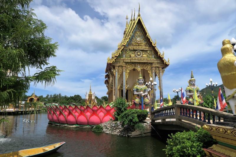 Tempel in Koh Samui, Thailand