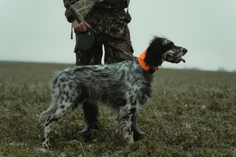 Die Jagdbekleidung sollte handlich sein